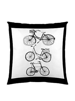 Naturals Funda De Cojín Bikes