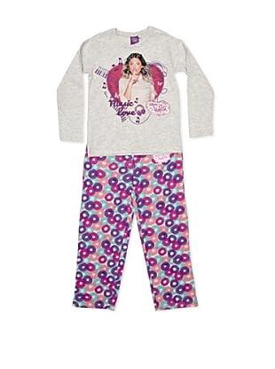 Licencias Pijama Violetta (Gris / Morado)