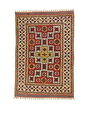 L'EDEN DEL TAPPETO Alfombra Konya Antik Rojo/Multicolor 160 x 217 cm