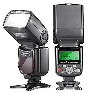 Neewer VK750II i-TTL Flash Speedlite with LCD for Nikon DSLRs