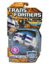 """Hasbro Year 2010 Transformers Reveal The Shield"""" Series Deluxe Class 6 Inch Tall Robot Action Figure - SPECIAL OPS JAZZ with Blaster Pistol (Vehicle Mode: Street Rally Car)"""""""