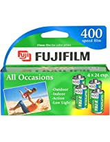 Fujifilm - Superia X-TRA ISO 400 35mm Color Film - 24 Exposures, 4 Pack