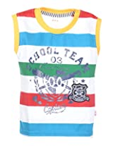 GAG Boys Cotton T-Shirt (Yellow)(16)