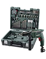 CUMI Metabo Mobile Workshop - 600 Watts Impact Drill with 65 Sets of Accessories