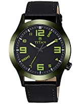 Titan Youth Analog Black Dial Men's Watch - 9474KL03J