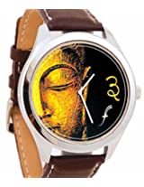 Foster's Buddhhaa Art Analogue Multi-Color Watch AFW0000520