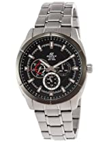 Casio Edifice Analog Black Dial Men's Watch - EF-327D-1A1VDF (ED338)
