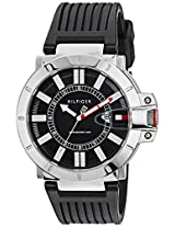 Tommy Hilfiger Analog Black Dial Men's Watch - TH1790748/d