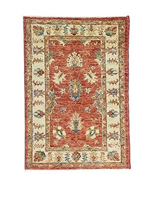 L'EDEN DEL TAPPETO Alfombra Agra Special Rojo/Multicolor 78 x 114 cm