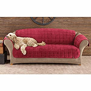 Sure Fit Deluxe Pet fort Sofa Slipcover