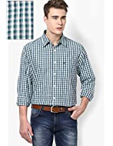 White Check Regular Fit Casual Shirt Allen Solly