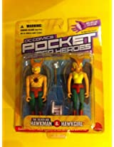 DC Direct Silver Age Hawkman and Hawkgirl DC Comics Pocket Super Heroes Collection