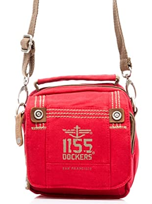Dockers Bags Bandolera Paralelo (Rojo)