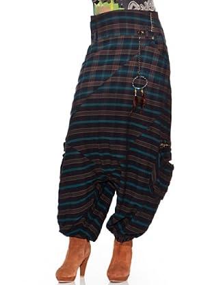Desigual Pantalón Rustic Fashi (Verde)