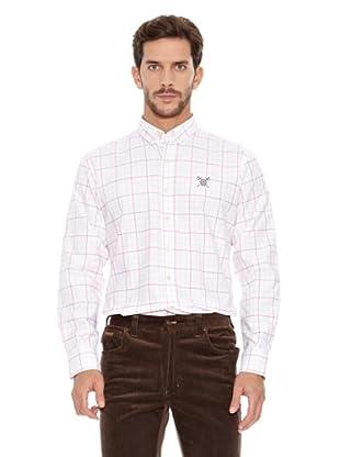Spagnolo Camisa Oxford Albero (Rosa / Rojo)