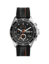 Fossil End-of-season Decker Analog Black Dial Men's Watch - CH2956