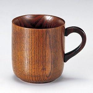 天然木製 マグカップ 漆塗り