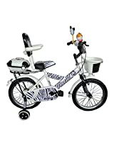 HLX-NMC KIDS BICYCLE 14 BOWTIE ZEBRA STYLE