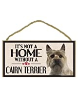 Imagine This Wood Sign for Cairn Terrier Dog Breeds