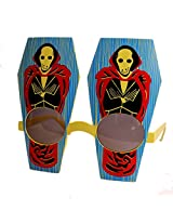 Skeleton- Yellow (Party Glasses, Fancy Shades, Sunglasses, Goggles, Eye Wear)