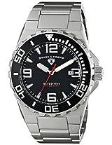 Swiss Legend Men's 10008-11 Expedition Analog Display Swiss Quartz Silver Watch