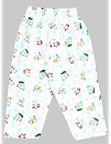 Ollypop Newborn Pyjama With Colourful Prints - Multicolour (0 - 9 Months)
