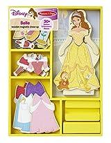 Belle Wooden Magnetic Dress-Up Play Set