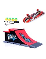 Imported Mini Skateboard and Ramp Accessories set C#