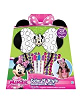 Disney Mickey Mouse Friends Minnie Mouse Color 'N Style Headband Activity Set