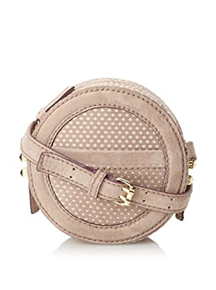 Charlotte Ronson Women's Canteen Dots + Stripes, Tan Dot, One Size