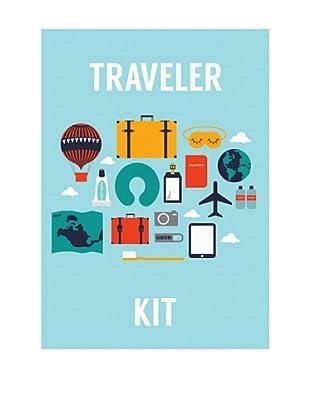 ReallyNiceThings Lienzo Infantil Kids Kit Traveler