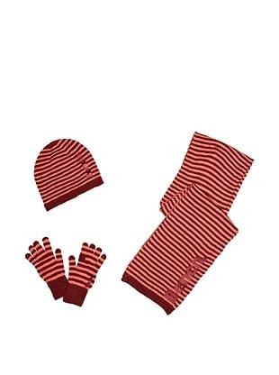 Conjunto Klaudia (Rojo / Burdeos)