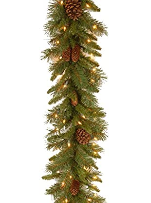National Tree Company 9' Pine Cone Garland
