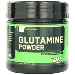 Optimum Nutrition (ON) Glutamine Powder - 600 g