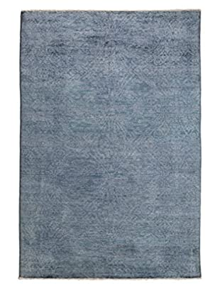 Darya Rugs Ziegler One-of-a-Kind Rug, Light Blue, 6' x 9'