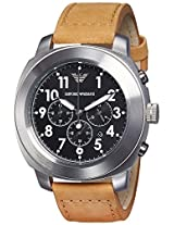 Emporio Armani Analog Black Dial Men's Watch - AR6060