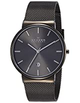 Skagen Ancher Analog Grey Dial Men's Watch - SKW6108