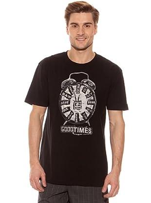 Globe Camiseta (Negro)
