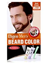 Bigen Men's Beard Color, Dark Brown B103