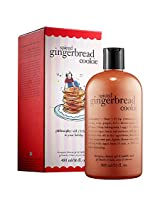 philosophy spiced gingerbread cookie shower gel 16 oz-16 oz