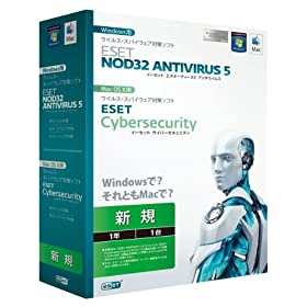 ESET NOD32A`ECX V5.0 Windows/Mac
