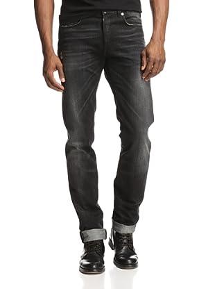 Dior Men's Skinny Jeans (Dark Grey)