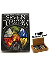 Seven Dragons - The Card Game of Dragon Connections! Plus FREE Wooden Box!