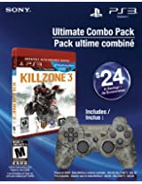 Ultimate Combo Pack - Killzone 3 Greatest Hits & Dualshock 3 Wireless Controller (PS3)