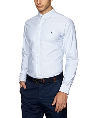 Brooks Brothers Camisa Timothee (Azul)