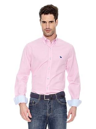 Toro Camisa Cuadros Fist Puños (Rosa)