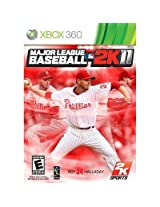 New Take-Two Major League Baseball 2k11 Sports Game Complete Product Retail Supports Xbox 360