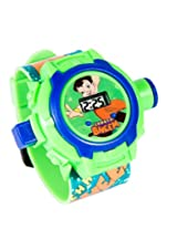 Chotta Bheem Projector Digital Multicolor Dial Children'S Watch (Multi-Colour)(24 Images)