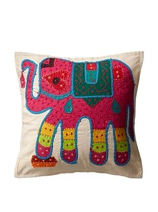 Elephant Pillow, Fuchsia