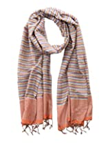 Dushaalaa Women's Scarves (10181.1_Grey, Grey, L x B : 71 Inches X 24 Inches)